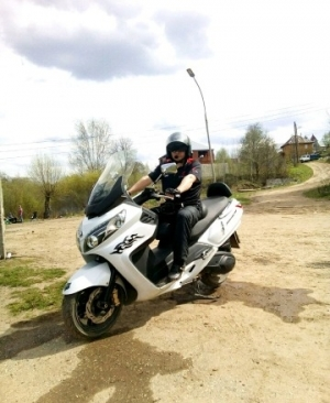 Максискутер SYM maksym 400 Пермь