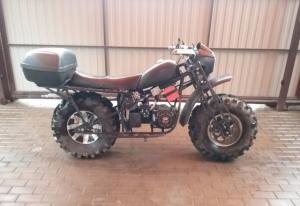 Мотоцикл полноприводный Коломна