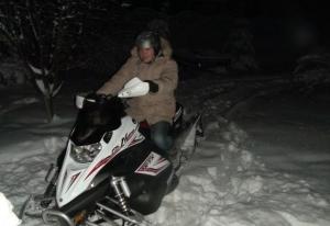 Снегоход спортивный Yamaha FX Nytro Железнодорожный