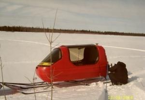 Прицеп для снегохода euro - kammi Мурманск