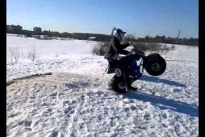 Мотоцикл-вездеход Атаман Красноярск