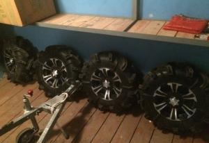 Злые колёса для квадроцикла BRP Gorilla Тюмень